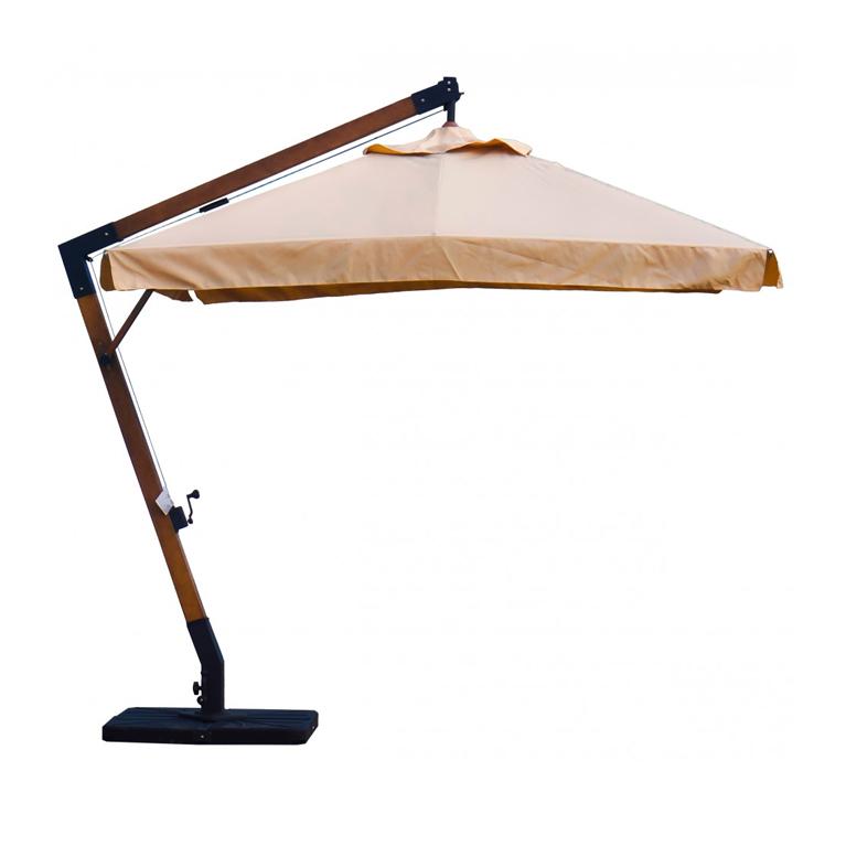 Зонт консольный 4Л 3x3 квадратный