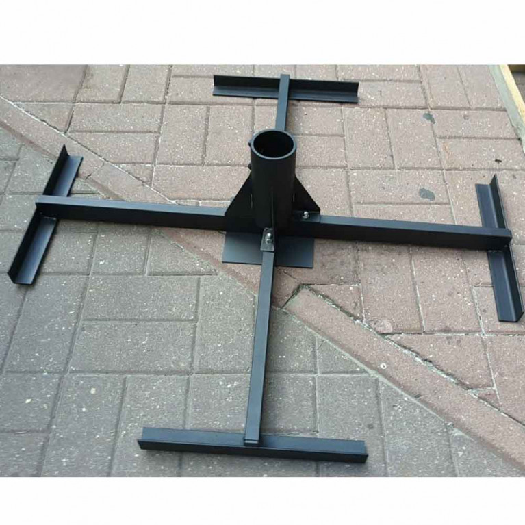 Основание регулируемое зонта с центральной опорой 75-78 мм