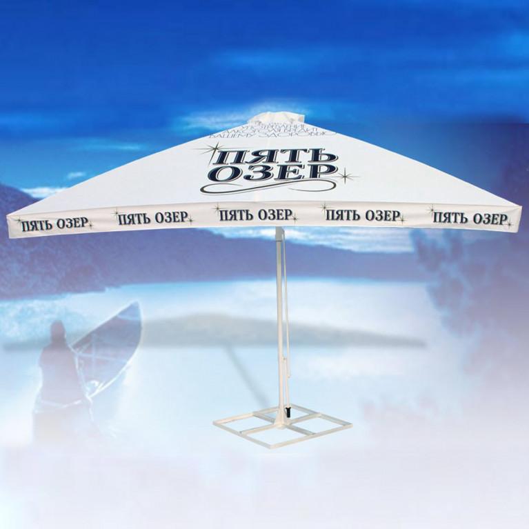 Зонт с рычажным приводом 8Л3x3-51 квадратный