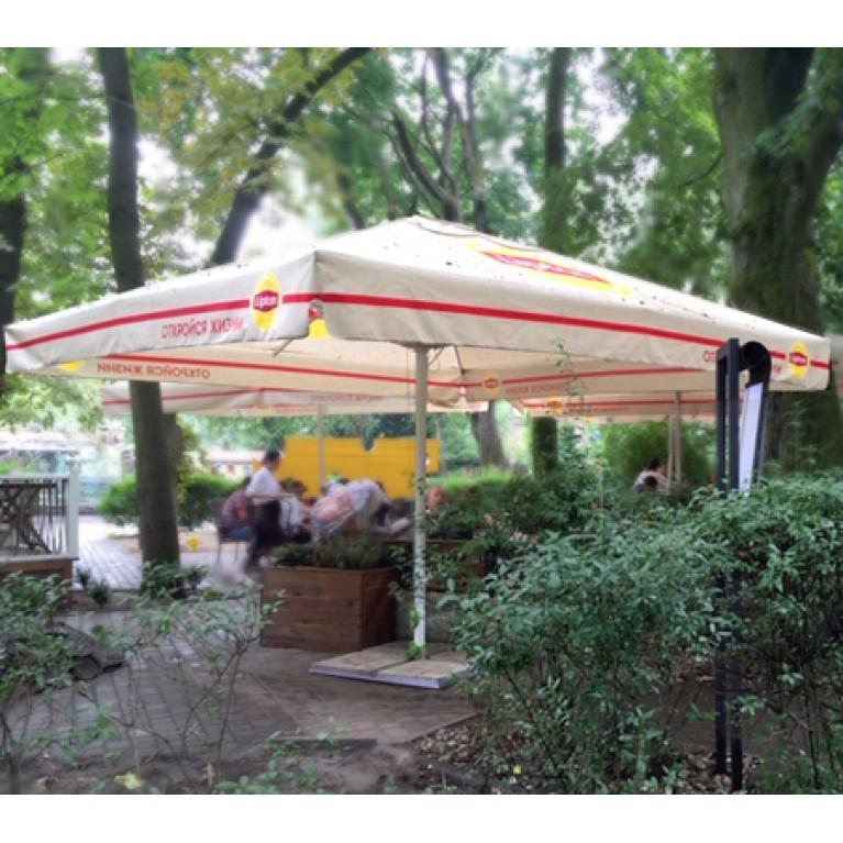 Зонт телескопический квадратный 3 х3 метра 4Л3х3-51ТЛ