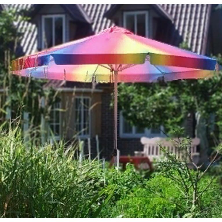 Зонт телескопический 6Л3,0-51ТЛ круглый уличный