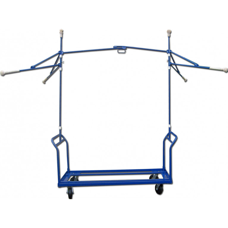 Зонт двухстоечный З-2С-1200 с тележкой под холодильник ТХ712/2 в сборе