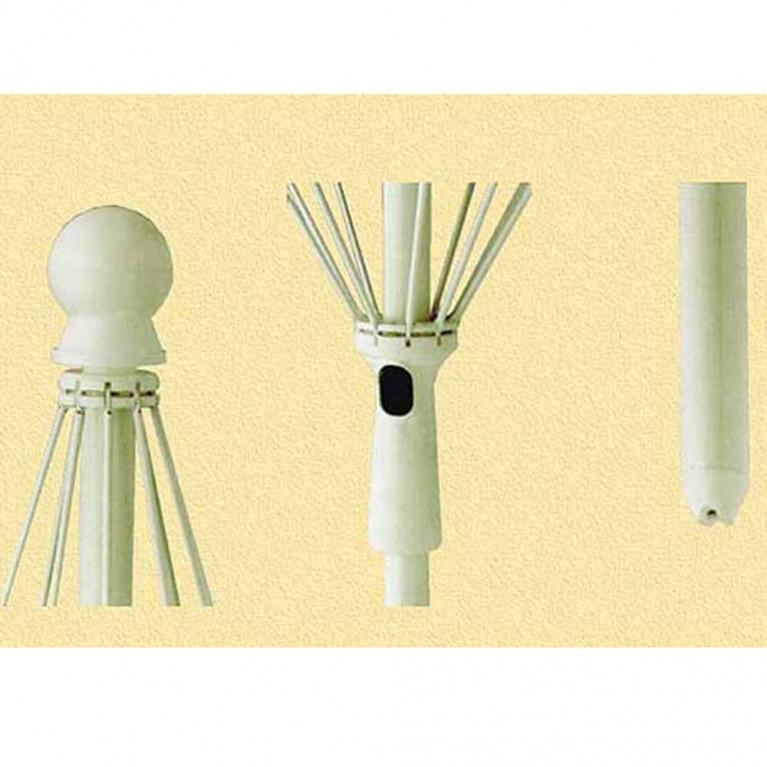 Зонт пляжный от солнца, садовый зонт для дачи 8Л 2,0